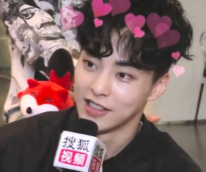 exo, hearts, and icons image