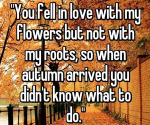 autumn, whisper, and deep image