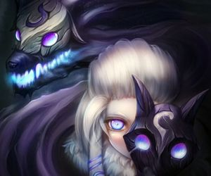 league of legends, kindred, and games image