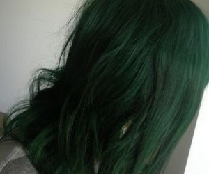 colorful hair and green hair image