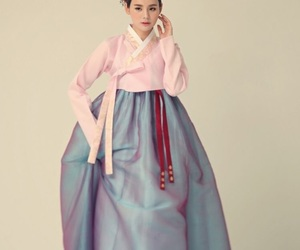 korean and traditional dress image