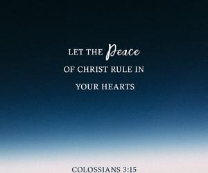 peace, love, and jesus image