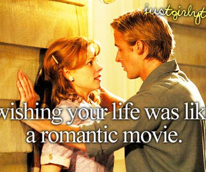 love, movie, and life image