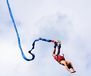 flying fox, bungee jumping, and zipline image