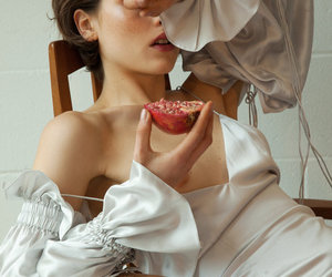 editorial, model, and sensuality image