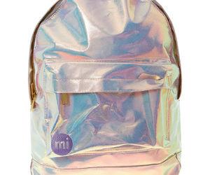 backpack, mi, and hologram image