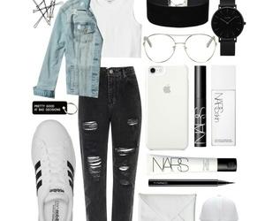 adidas, fashion, and black image