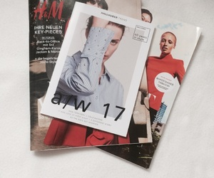 H&M, simple, and magazine image