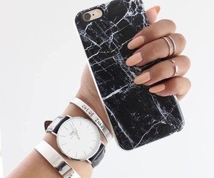 nails, iphone, and watch image
