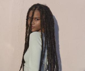 beauty, pretty, and melanin image