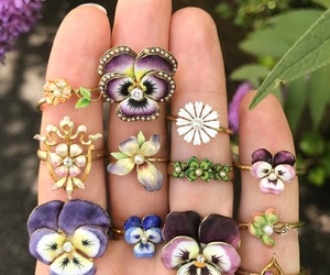 flowers, jewelry, and amazing image