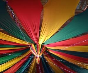 arco iris, circo, and happy image