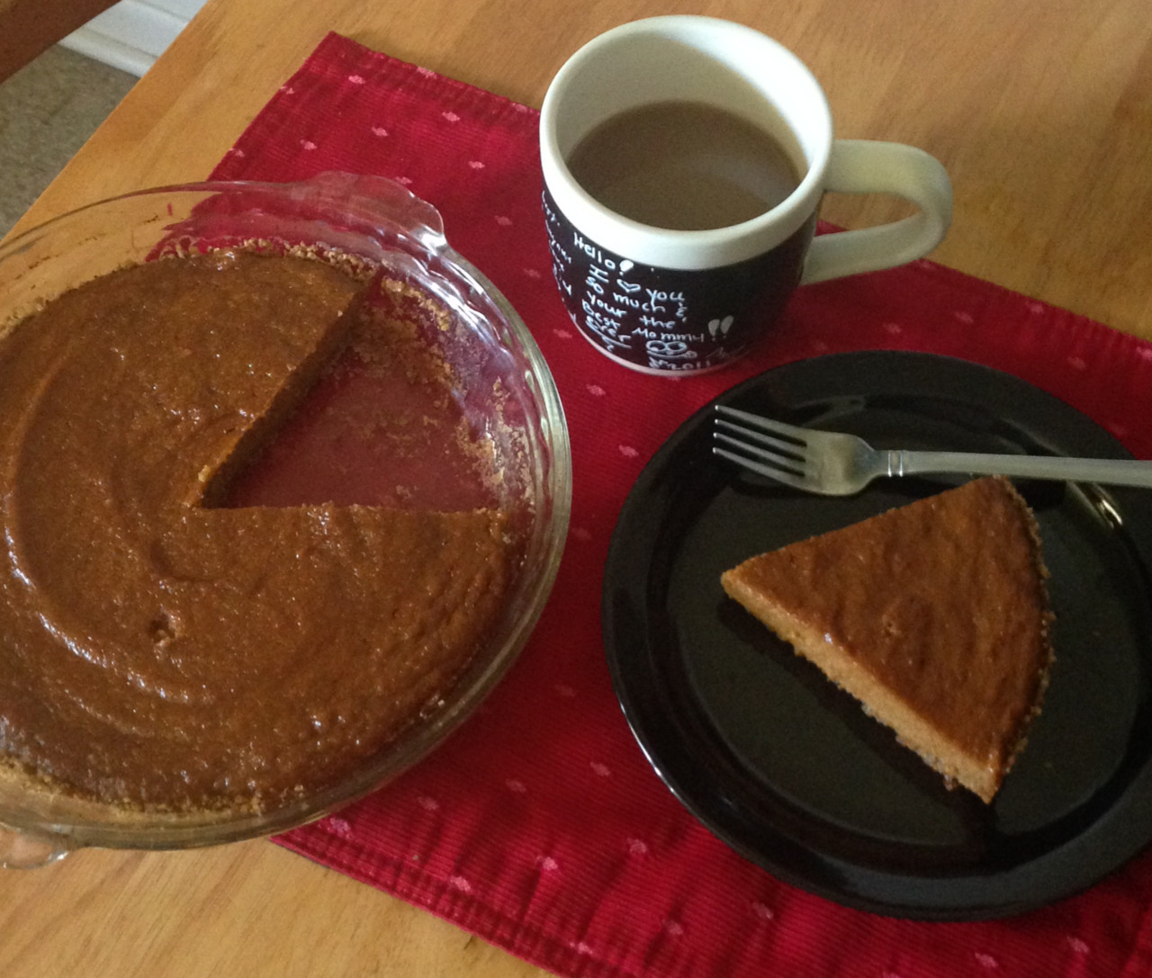 article, pie, and pumpkin image