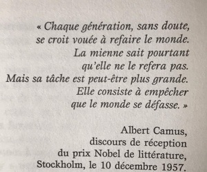 albert camus, camus, and francais image