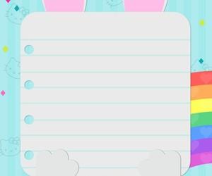 bunny, colorful, and kawaii image