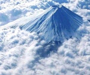 japan, fuji, and mountains image