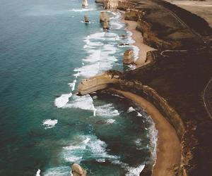 nature, ocean, and travel image