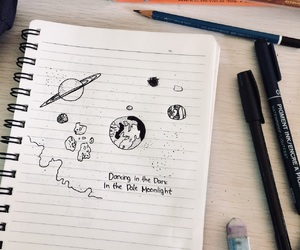 astronomy, Paper, and book image