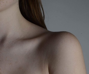 bone, collar, and freckles image