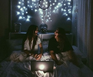 friendship, friends, and light image