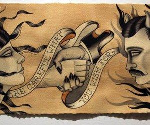 old school tattoo image
