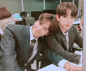 got7, jackson, and jinyoung image