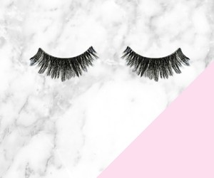 girly, lash, and lashes image