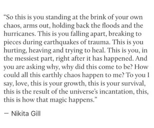 encouragement, poetry, and nikita gill image