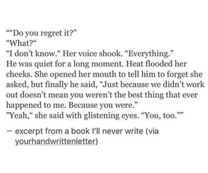 quotes, words, and sad image