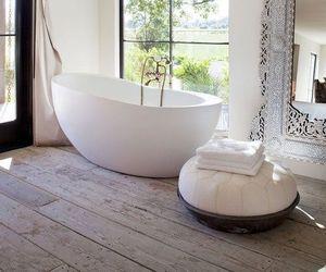 bathroom, mirror, and beautiful image