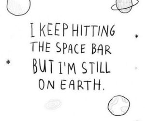 earth, quotes, and space image