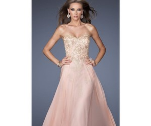 femme, dresses, and strapless image