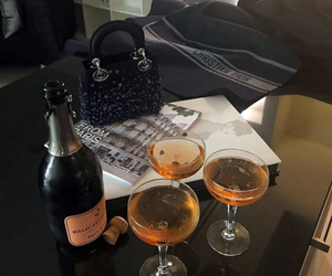 dior and drinks image