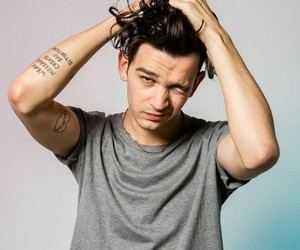 the 1975, matty healy, and matty image