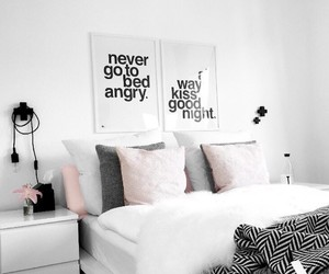 bed, home, and tumblr image