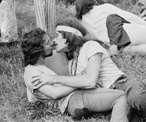 gay and hippie image