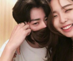 couple, asian, and korean image