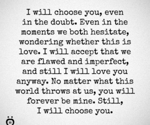 choose, love, and quotes image