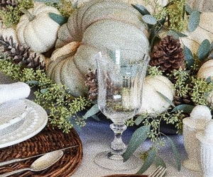 autumn, design, and lunch image