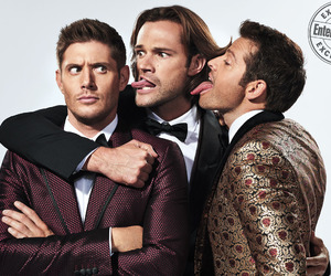 jared padalecki and Jensen Ackles image