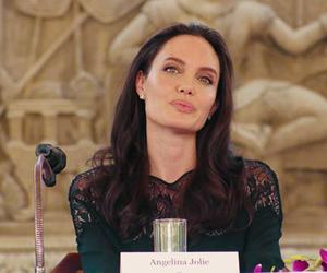 90s, Angelina Jolie, and powerful woman image