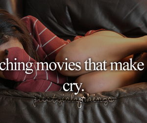 happy chick, cry, and movies image
