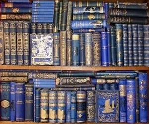 blue, book, and stay image