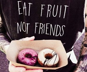 donuts, Tattoos, and food image