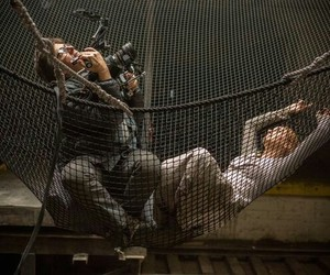 behind the scene, divergent, and Shailene Woodley image