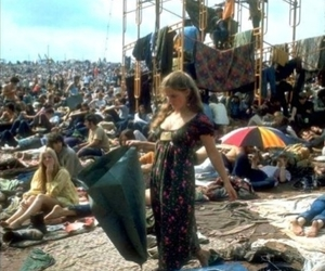woodstock and 60's image