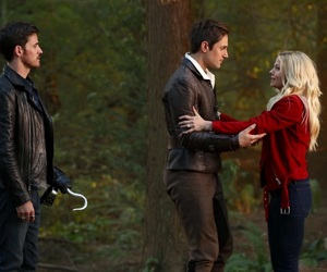 Jennifer Morrison, andrew j west, and ouat season 7 image