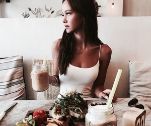fashion, food, and instagram image