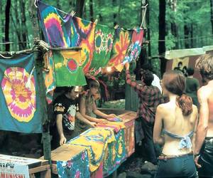 hippie, woodstock, and peace image
