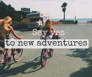 adventure, goals, and quotes image